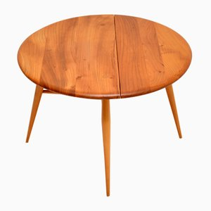 Vintage Elm Coffee Table from Ercol, 1960s