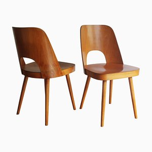 515 Dining Chairs by Oswald Haerdtl for TON, 1950s, Set of 2