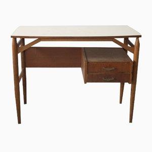 Schreibtisch in Weiß, 1970er