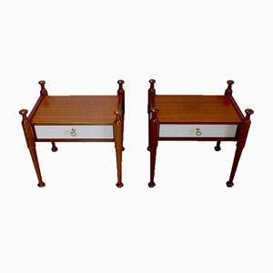 Mahogany Bedsides from Gautier, 1970s, Set of 2