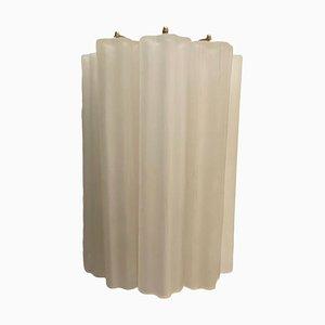 Röhrenförmige Wandleuchten aus Murano Glas, 1970er, 2er Set