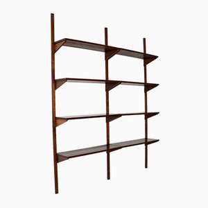 Vintage Danish Rosewood PS Shelving System from Randers Møbelfabrik, 1960s