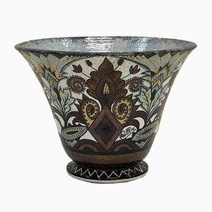 Vase von Paul Fouillen für Quimper Faience, 1930er