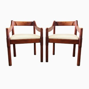 Carimate Armchairs by Vico Magistretti for Cassina, Set of 2, 1960s