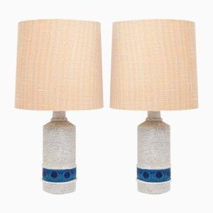 Vintage Table Lamps by Aldo Londi for Bitossi, Set of 2