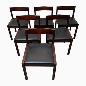 Modell 506 Esszimmerstühle von Alfred Hendrickx für Belform, 1962, 6er Set