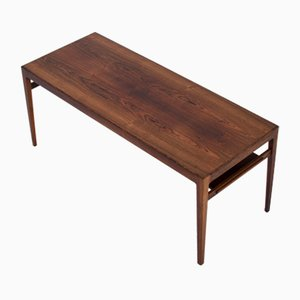 Mid-Century Rosewood Coffee Table by Ludvig Pontoppidan