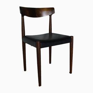 343 Dining Chair by Knud Færch for Slagelse Møbelværk, 1960s