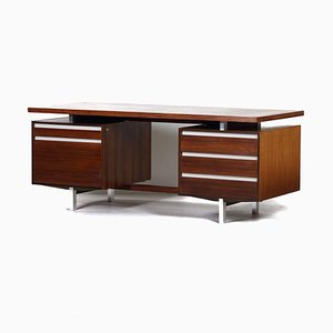 Rosewood Executive Model J1 Desk by Kho Liang Ie for Fristho, 1956