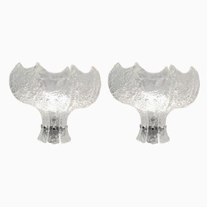 Murano Glass Sconce by Carlo Nason for Mazzega, Italy, 1970s, Set of 2