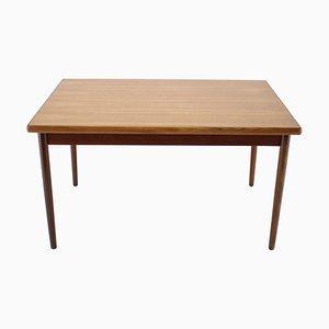Teak Extendable Dining Table, Denmark, 1960s