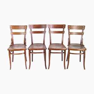 Thonet Nr. 651 Chairs, 1907, Set of 4