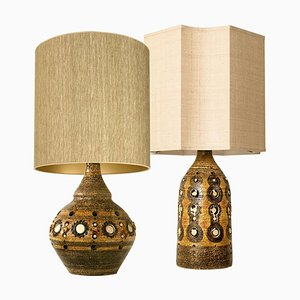 Tischlampen von Georges Pelletier, 1970er, 2er Set