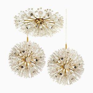 Snowball Orbit Sputnik Light Fixtures by Emil Stejnar, Austria, Set of 3