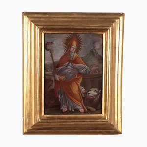 St Januarius Among the Lions, Ecole Napolitaine, 18ème Siècle