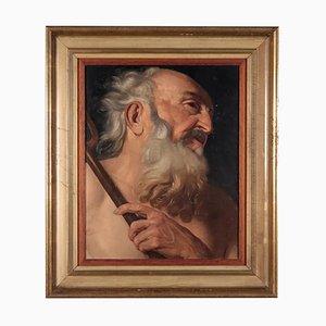 Volto di Santo Penitente, Oil on Canvas