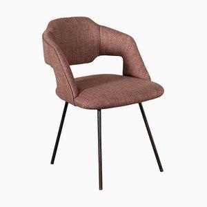 Enamelled Metal Chair, Italy, 1950s