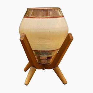 Table Lamp from Drevo Humpolec, Czechoslovakia, 1960s