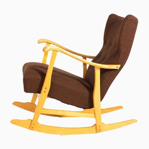 Sculptural Rocking Chair by Elias Svedberg for Nordiska Kompaniet, 1950s