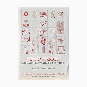 Poster vintage di Tullio Pericoli - Original - 1976