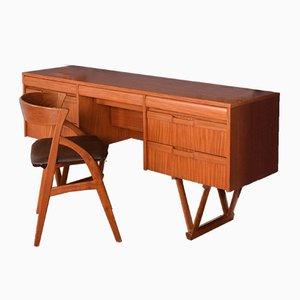 Teak EON Desk from Elliots of Newbury, 1960s
