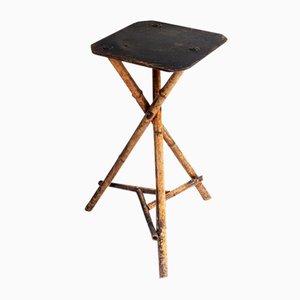 Viktorianischer Tisch aus Bambus