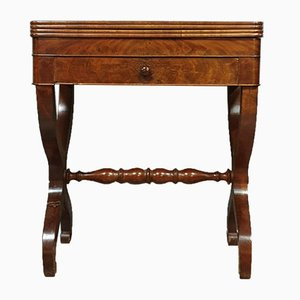 Empire Period Mahogany Game Table, 1810s