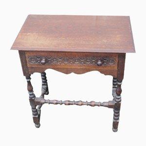 Oak Side Table, 1940s