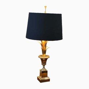 Lampe de Bureau Palm Style Hollywood Regency de Maison Jansen, 1970s