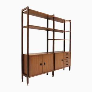 Wooden Wall Unit / Bookcase from Faram, 1960s