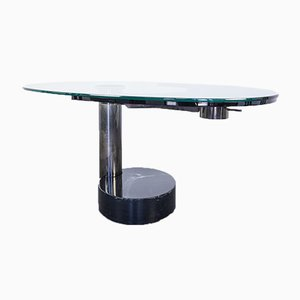 Vintage Glass Dining Table by Pierre Cardin, 1960s
