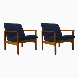 Lounge Chairs by Yngve Ekström for Swedese, 1950s, Set of 2
