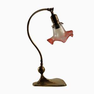 Lámpara de piano vienesa modernista, 1910