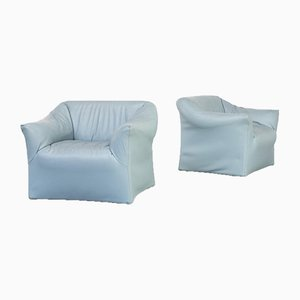 Model 685 Lounge Chairs by Mario Bellini for Cassina, 1980s, Set of 2