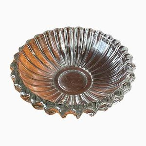 Vintage French Glass Bowl by Pierre D'avesn, 1930s