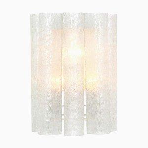 Große Deutsche Murano Glas Wandlampe von Doria Leuchten, 1960er