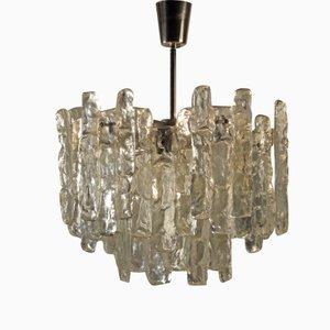 Grande Lampe à Suspension Stalactite par J.T Kalmar, 1970