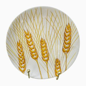 Ceramic Plates by Ernestine Cannon for Salerno, 1950s, Set of 8