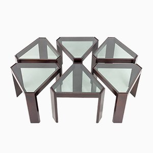 Nesting Tables from Porada Arredi, 1974, Set of 6