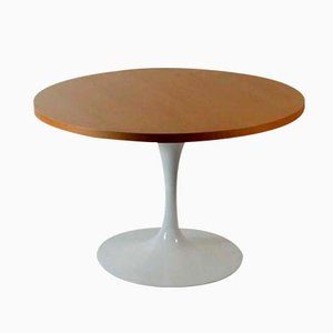 Tavolino da caffè Lazy Susan con base Tulip di Eero Saarinen per Knoll