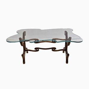 Mid-Century Mahogany Table by Paul Laszlo