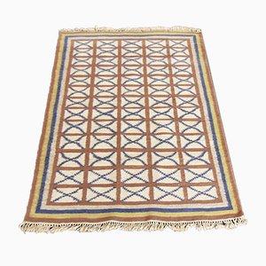 Handgewebter Vintage Kilim Teppich, 1970er