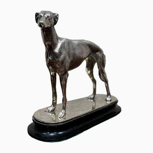 Silver-Plated Greyhound Trophy