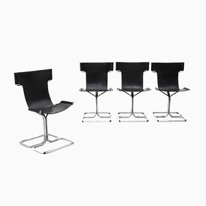 Topos Dining Chairs by Gruppo DAM for Busnelli, 1970s, Set of 4