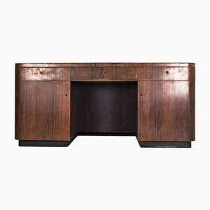 Art Deco Bruno Paul Style Bauhaus Desk from VEB Deutsche Werkstätten Hellerau, 1930s