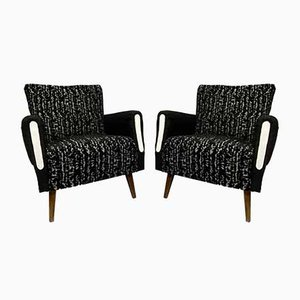 Vintage Armchairs, 1960s, Set of 2