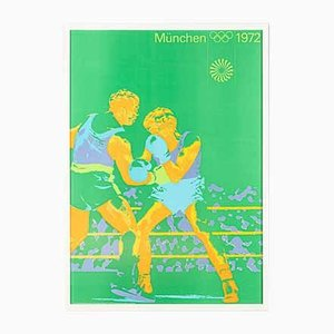 Boxing Poster by Otl Aicher, 1970s