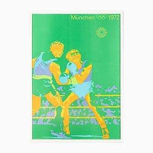 Boxing Poster von Otl Aicher, 1970er