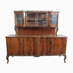 Baroque Style Carved Display Sideboard, 1950s