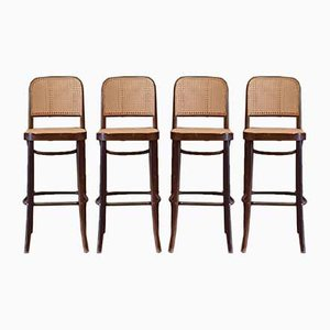 No. 811 Stools by Josef Hoffmann for FMG, 1960s, Set of 4